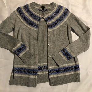 Talbots button down sweater.